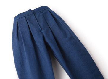 Deep blue pants