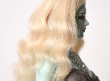 WIG : FMDSS-1124 Cream Blond (5-6 inchs)