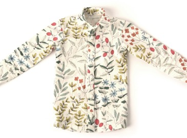 Man's Shirt : Botanic